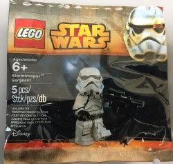 Murah Stormtrooper Sergeant Lego Polybag lego stormtrooper sergeant minifigure polybag at toys r us 171 imperial holocron