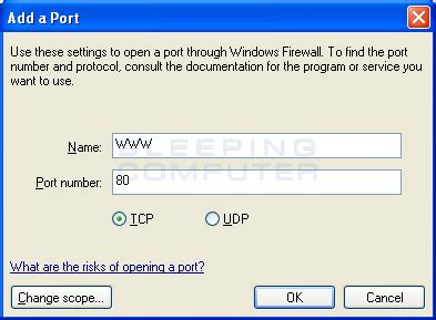 configure xp https how to configure the windows firewall in windows xp