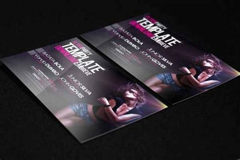 template flyer girl dance 50 amazing free and premium flyer templates