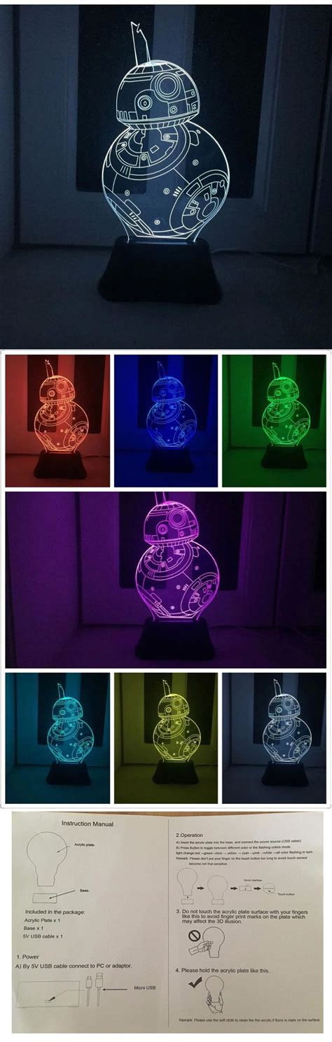wars 3d led light l wars bb 8 3d led l end 4 19 2017 9 58 pm myt
