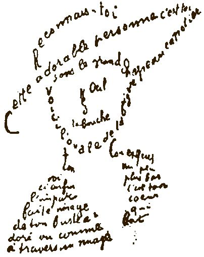 calligrammes by guillaume apollinaire apollinaire s calligrammes words and eggs