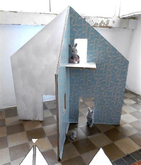 huis van karton knutsel ideeen huis van karton