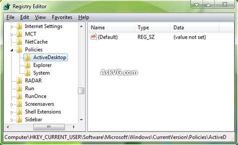 background wallpaper registry key solution cannot change desktop wallpaper in windows askvg