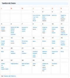 Calendario De Santos Calendario De Santos