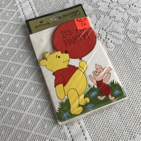 Vintage Winnie The Pooh Baby Shower by Vintage Winnie The Pooh Baby Shower Invitations Gift