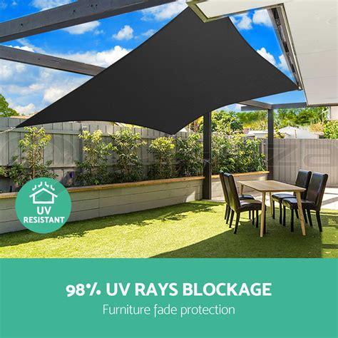 Sun Canopy For Garden Instahut Sun Shade Sail Cloth Shadecloth Outdoor Canopy