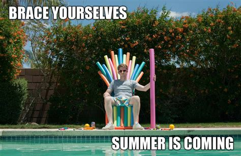 Summer Is Coming Meme - game of thrones brace yourselves imminent ned brace