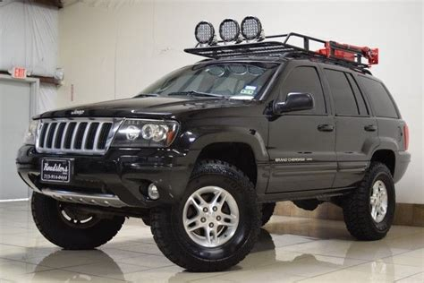 2003 Jeep Grand Roof Rack by 1j4gw58nx4c138931 Jeep Grand Limited Edition 4x4 Liftd Tow Roof Rack Hid Offroad Light