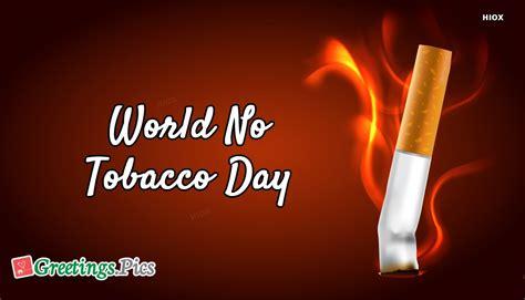 world  tobacco day