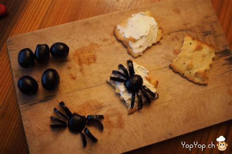 araign馥 cuisine recette pour amuse bouche araign 233 e en olive