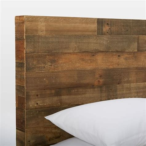 reclaimed wood storage bed emmerson reclaimed wood storage bed west elm