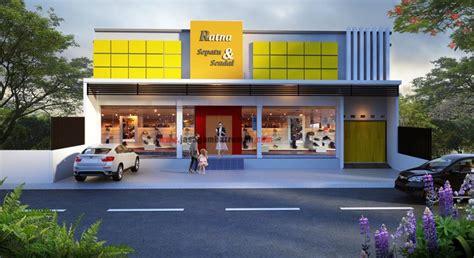 Design Toko Minimalis | 3 pilihan desain rumah toko minimalis low budget