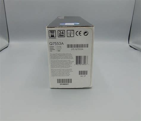 Gorillapod Hp hp laserjet 53a black printer cartridge genuine authentic expired 2010 kc s attic