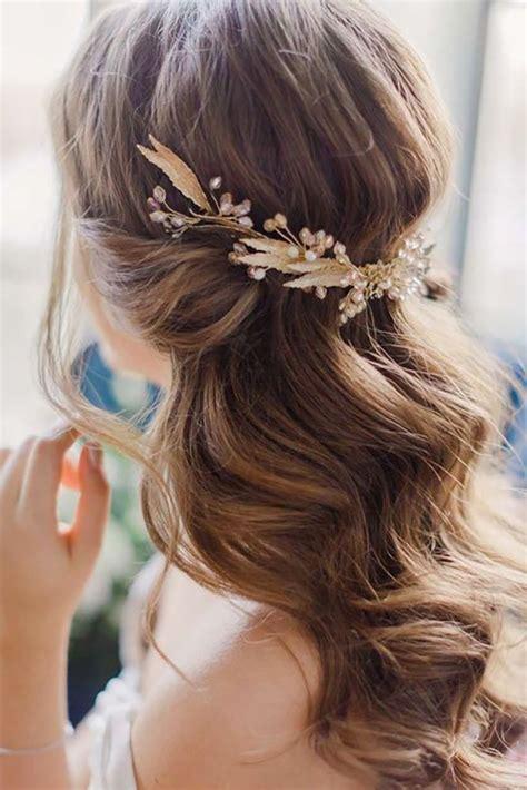 Wedding Hair Half Up Accessories by Best 25 Half Up Ideas On Half Up Wedding Hair