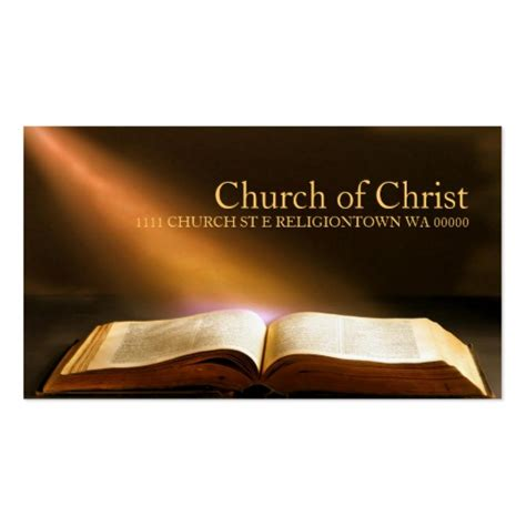 church business card templates free christian business card business card templates page4