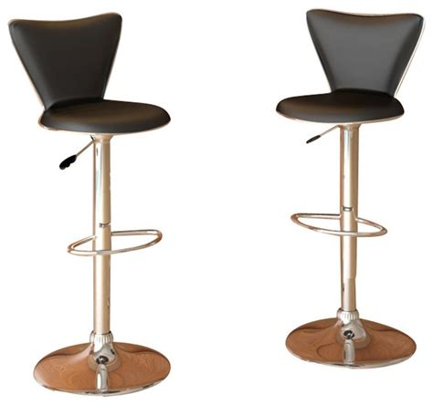 very tall bar stools sonax corliving tall back bar stool in black leatherette