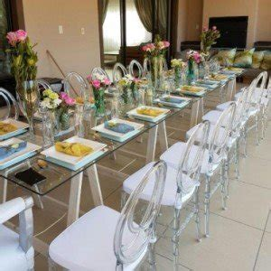 Glass Tables for Weddings   Decor Essentials South Africa
