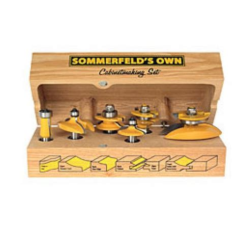 review sommerfeld 6 router bit set by mikespanky