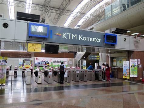 Ktm Kl Sentral Kl Sentral Ktm Komuter Station Malaysia Airport Klia2 Info