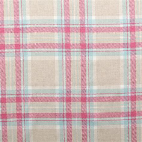 upholstery fabric check 100 cotton tartan check pastel plaid faux wool sofa