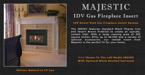 Fireplace Insert Manual by Majestic Idv Series Direct Vent Gas Fireplace Inserts