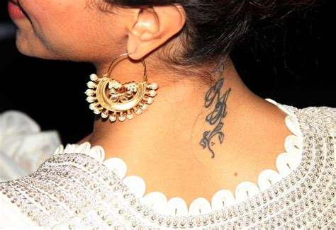 bollywood celebs and their tattoos and their tattoos