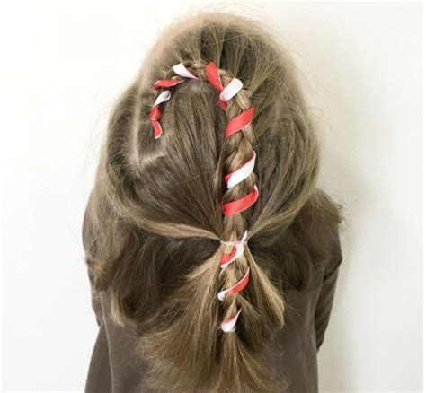 24 easy christmas hairstyles for girls one for each day