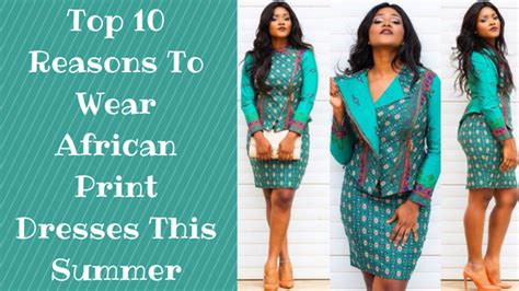Top 10 Reasons To A This Summer by Top 10 Print Dresses For This Summer