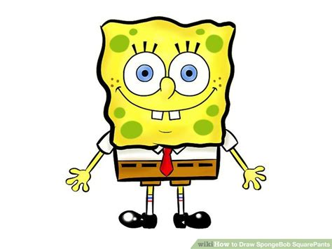 Topi Anakhat Karakter Sponge Bob Colour 3 ways to draw spongebob squarepants wikihow