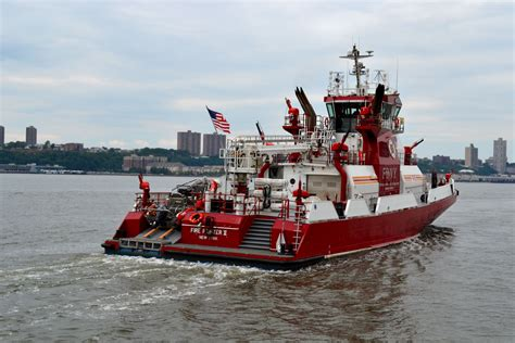 nyc fireboat 343 fdny fireboat firefighter ii firefighter appreciation