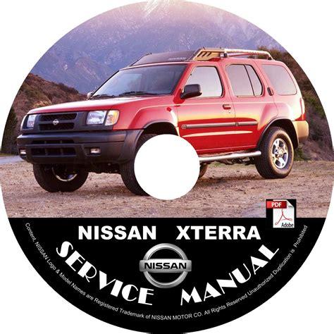01 2001 Nissan Xterra Factory Oem Service Repair Shop