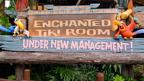 the enchanted tiki room new management enchanted tiki room new management