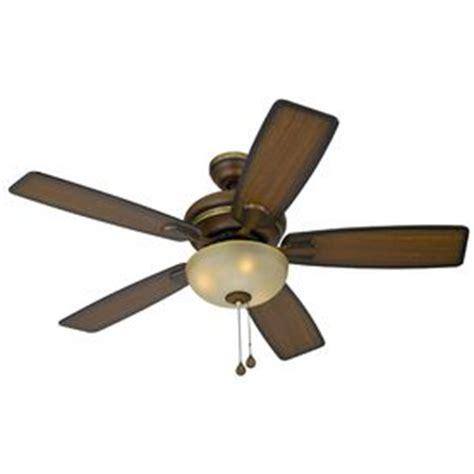 harbor breeze 44 in cedar hill walnut ceiling fan with