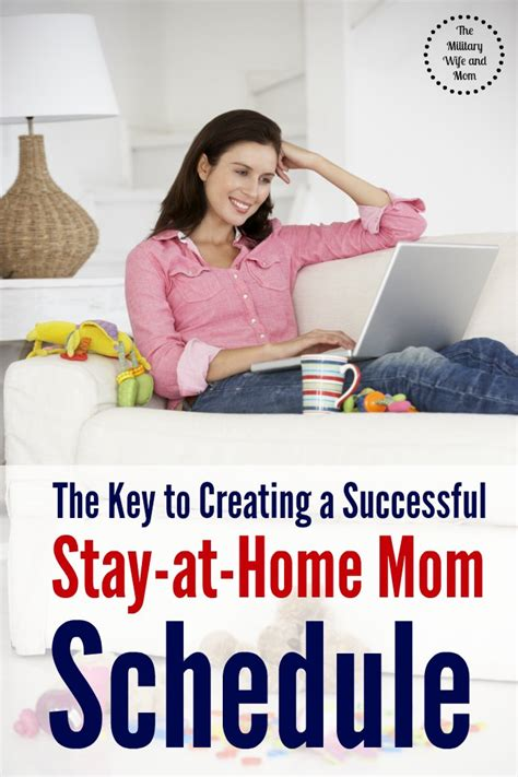 the key to creating a successful stay at home schedule