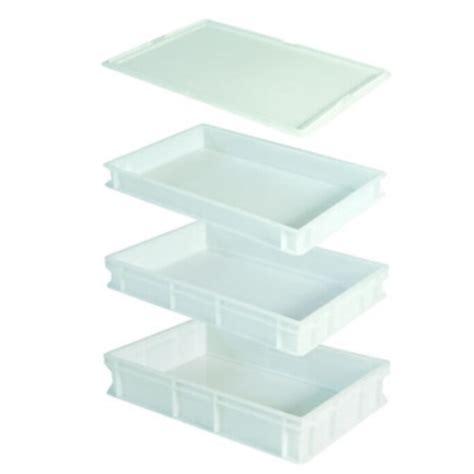 cassetta di plastica contenitori per palline pizza in plastica sovrapponibili