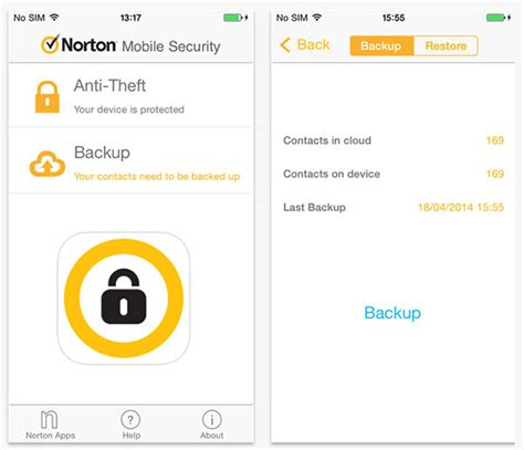 norton mobile security windows phone 10 best security antivirus apps for android iphone