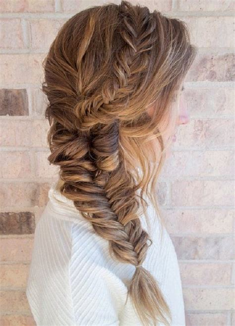easy hairstyles with box fishtales 20 braid hairstyles for your weekend pretty designs