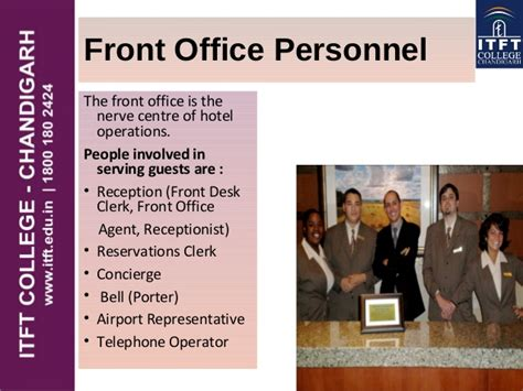 Qualities Of A Front Desk Officer Itft Front Office Introduction