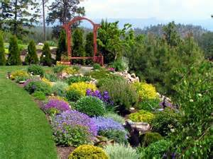 garden landscaping this flower garden is landscaped wi
