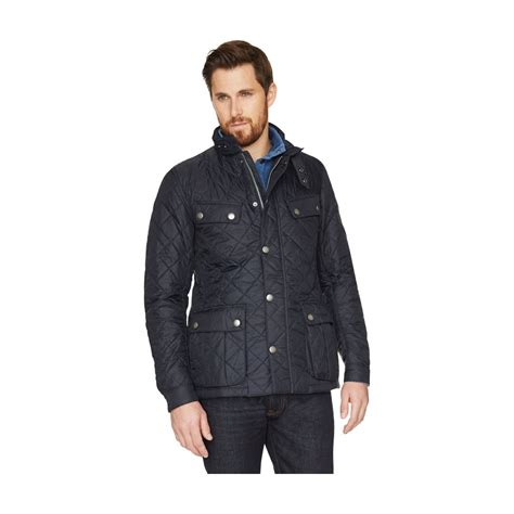 Jaket Mayer Swed Navy barbour ariel quilted jacket mens coats jackets o c