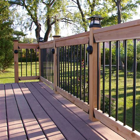 Aluminum Balusters For Deck Railings Premium Aluminum Baluster By Tehk