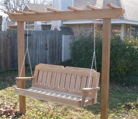 arbor swing frame arbor swing with victorian cedar porch swing traditional