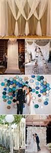 ideas for wedding backdrops top 20 unique backdrops for wedding ceremony ideas