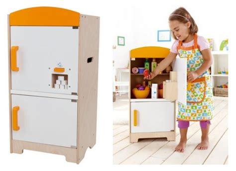 Hape Playfully Delicious Kitchen by Hape Gourmet Fridge Building Blocks