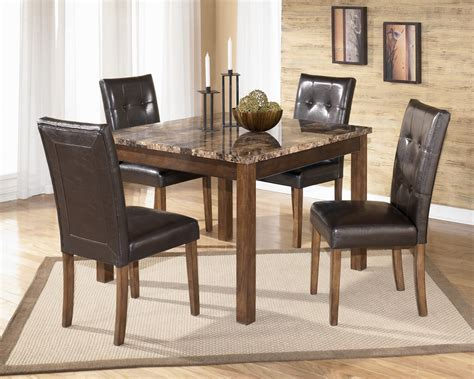 dinette sets with bench support for your dining room ideas theo square table dinette set by ashley signature design