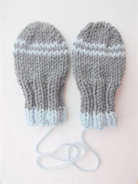 knitting pattern baby mittens thumbless 17 best images about baby mittens knitting and crochet