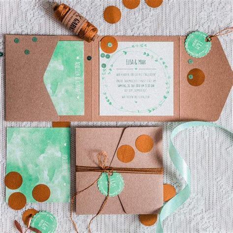 Hochzeitseinladung Kupfer by 22 Besten Pocketfold Einladungen Bilder Auf
