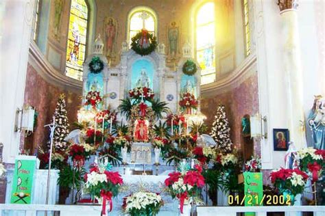 roman catholic church christmas decorations st hedwig catholic church 1902 present chester pa spirit of