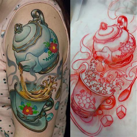 watercolor tattoo after years finally healed watercolor spirit fox rodrigo tas s 227 o