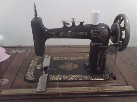 quot new companion quot treadle sewing machine